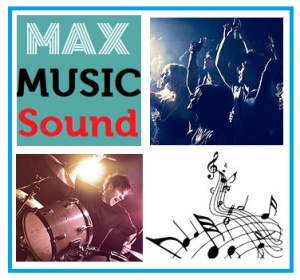 logo max music sound